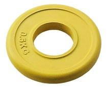 Блин диаметром 51 мм JOHNS цветной обрезиненный, 0,5 кг