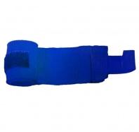 Бинт боксерский С-311, 2,5м, эластик, синий