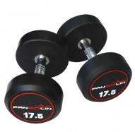 PANGOLIN DB145B - Гантели круглые обрезиненные от 22.5 до 30 кг