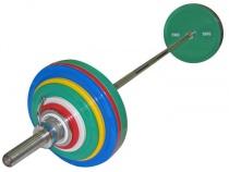 Штанга для пауэрлифтинга 284 кг IPF стандарт