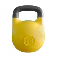 Гиря соревновательная 16 кг Желтая