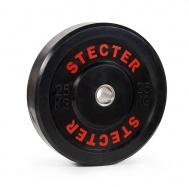 Каучуковый диск 25 кг черный
