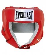 Шлем открытый USA Boxing 610400U, L, кожа, красный