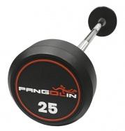 PANGOLIN DB145C - Штанги фиксированные обрезиненные круглые от 55 до 60 кг