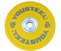 Диск полиуретановый цветной 15 кг Yousteel