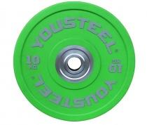 Диск полиуретановый цветной 10 кг Yousteel