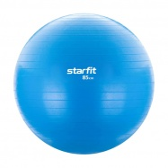 Мяч гимнастический SF-104 85 см, антивзрыв, голубой