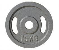 Диск JOHNS металлический, d51мм. 15 кг., серый