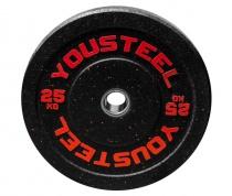 Диск с цветным вкраплением 25 кг Yousteel