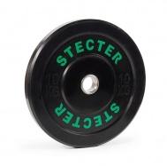 Каучуковый диск 10 кг черный