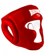 Шлем закрытый RV- 301, к/з, красный