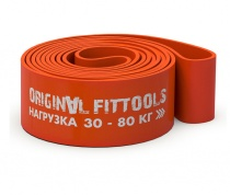 Эспандер ленточный 30-80 кг оранжевый OF12