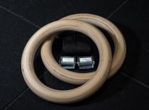 Деревянные кольца для гимнастики