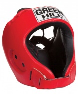 Шлем открытый ALFA HGA-4014, к/з, красный