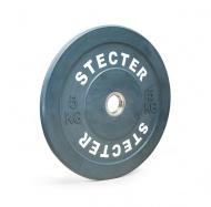 Каучуковый тренировочный диск 5 кг (серый)