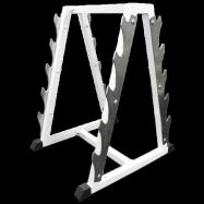 Стойка для хранения грифов (на 10 позиций) MB Barbell MB 1.17