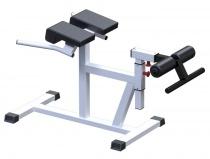 AR027 Тренажер для мышц спины Гиперэкстензия, Римский стул