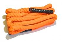 Канат спортивный тренировочный для кроссфита 50 мм х 12 м