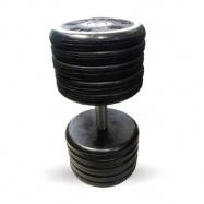 """Гантель 52 кг черная """"Классик"""" MB Barbell MB-FdbEM-B52"""