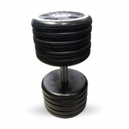 """Гантель 54 кг черная """"Классик"""" MB Barbell MB-FdbEM-B54"""