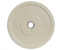 Бамперный блин «JOHNS» APOLO Bumper, d-51мм., цветной, цельно резиновый, 5 кг.