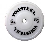 Диск соревновательный цветной 5 кг Yousteel