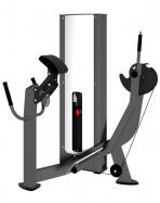 Грузоблочный тренажер для ягодичных мышц радиальный X-LINE X131