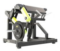 Тренажер Бицепс-машина сидя со свободным весом Y970Z