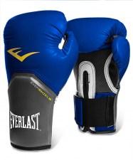 Перчатки боксерские Pro Style Elite 2208E, 8oz, к/з, синие