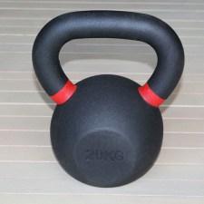 Гиря чугунная 20 кг красный кант H-10520