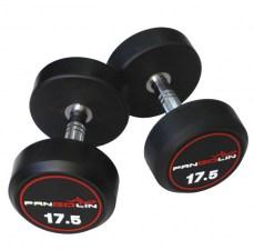 PANGOLIN DB145B - Гантели круглые обрезиненные от 32.5 до 40 кг
