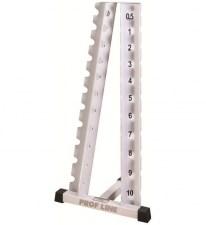 Prof Line ST-403 Стойка для гантелей хромированных Елочка (0.5-10 кг)