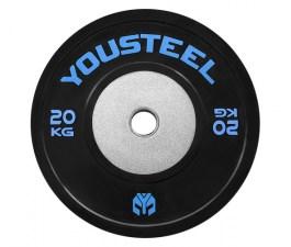 Диск с цвет. полосой 20 кг Yousteel
