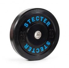 Каучуковый диск 20 кг черный