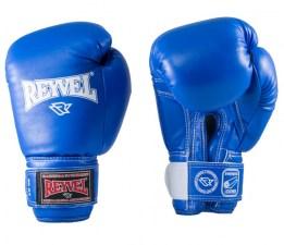 Перчатки боксерские RV-101, 6oz, к/з, синие