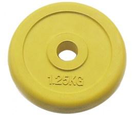 Блин обрезиненный 51 мм JOHNS цветной, 1,25 кг