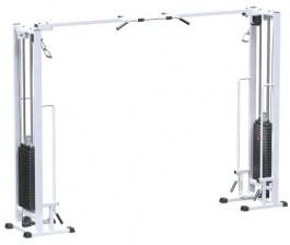 AR082.2х100 Кроссовер на базе реабилитационной рамы (стек 2х100 кг)