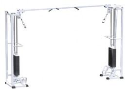 AR084.2х75 Тренажер кроссовер на базе многофункциональной рамы