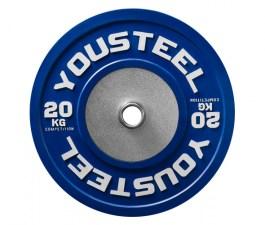 Диск соревновательный цветной 20 кг Yousteel