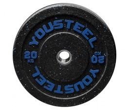 Диск с цветным вкраплением 20 кг Yousteel