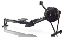 Гребной тренажер Concept2 D PM5 (черный)
