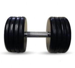 """Гантель черная """"Классик"""" 41 кг MB Barbell МВ-FdbEM-B41"""