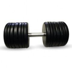 """Гантель черная """"Классик"""" 60 кг MB Barbell MB-FdbEM-B60"""