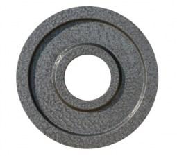 Диск для штанги металлический 51 мм 1,25 кг серый J-9551125B