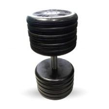 """Гантель черная """"Классик"""" 55 кг MB Barbell МВ-FdbEM-B55"""