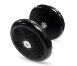 """Гантель черная """"Классик"""" 15 кг MB Barbell MB-FdbEM-B15"""