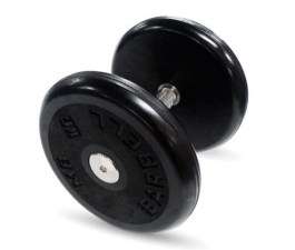 """Гантель черная """"Классик"""" 16 кг MB Barbell МВ-FdbEM-B16"""