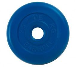 Диск обрезиненный 31 мм 2,5 кг MB Barbell MB-PltC31-2,5