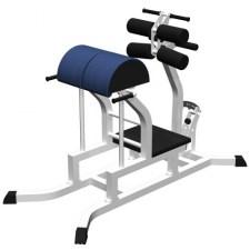 Тренажер для горизонтального разгибания спины с зажимами для ног (Гиперэкстензия горизонтальная) MB Barbell MB 2.31