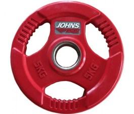 Цветной диск с ручками JOHNS цветн. 3-х хват. обрезин. d51мм, 5кг